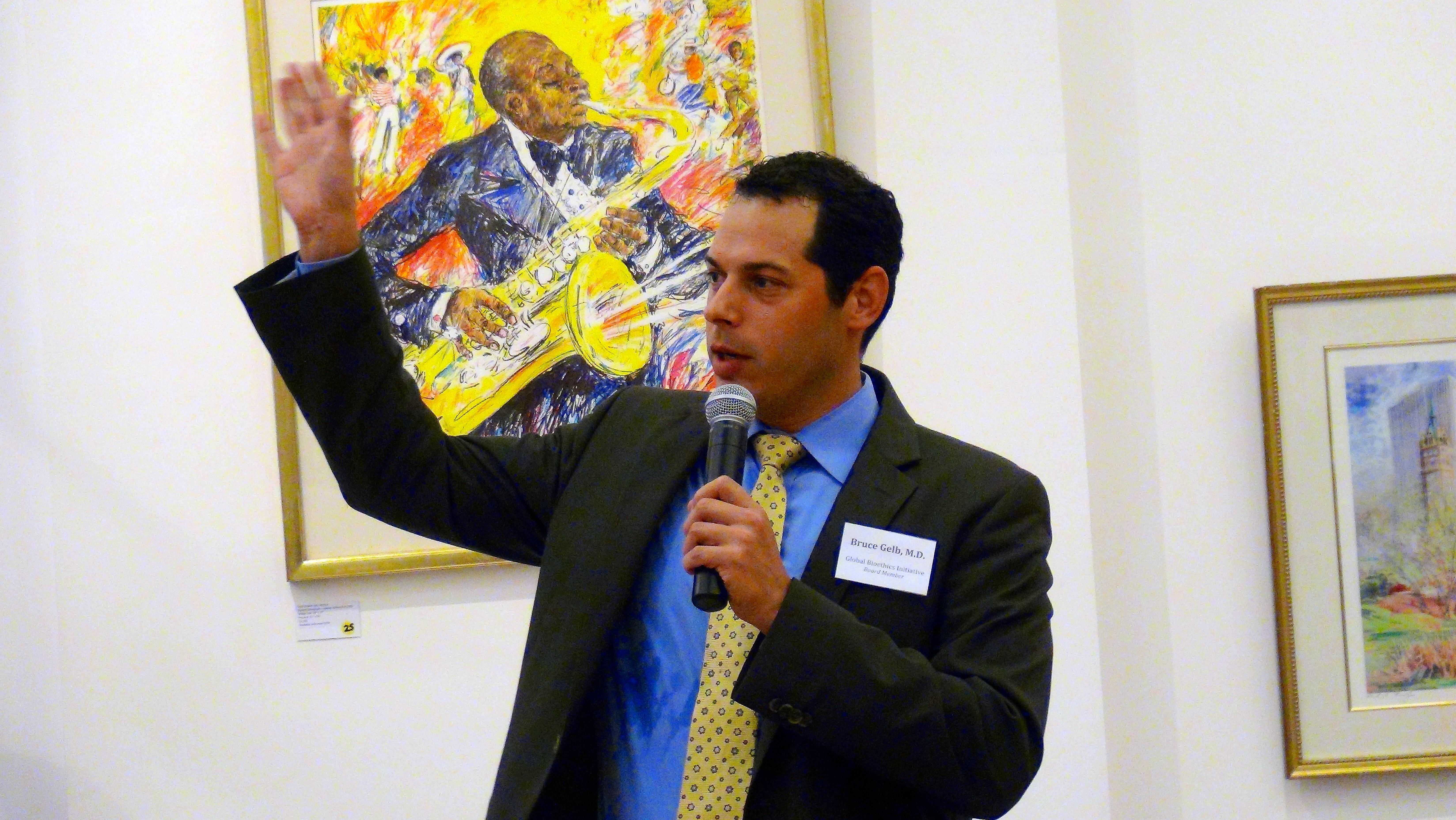 Bruce Gelb M.D., F.A.C.S and GBI board member