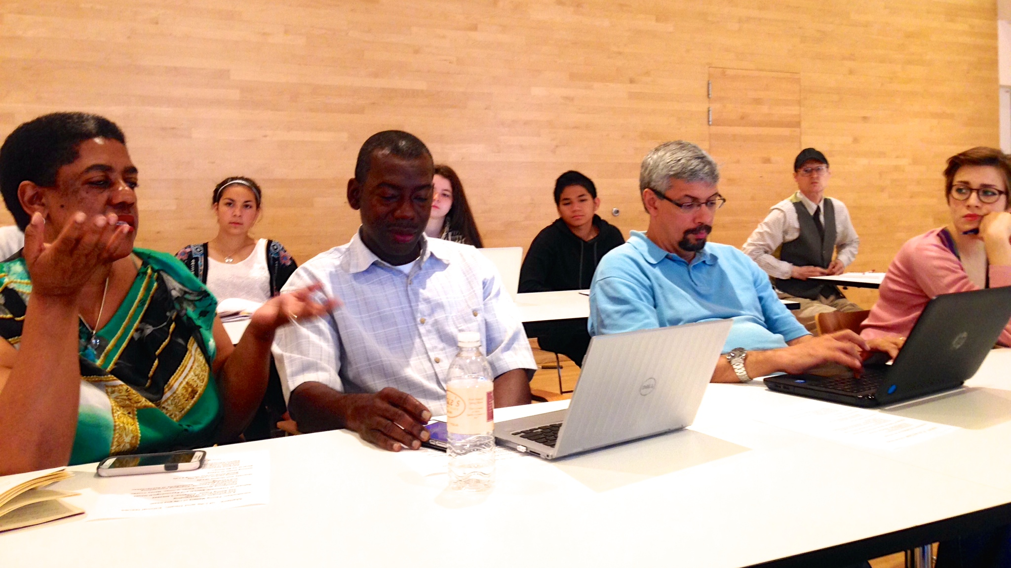 Summer School participants (from left to right): Lea Pinki Chirwa, Addo Sampson, Henrique Souza, Emily Pichardo Wojtyna