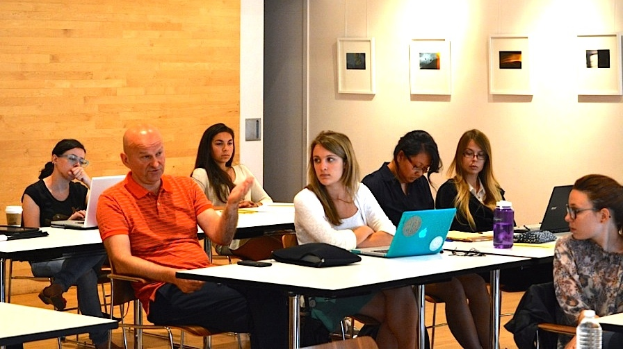 Summer School participants (from left to right): Erika Peace, Stjepan Oreskovic, Emily Sirota, Remy Servis, Grace Kim, Eija Lindroos