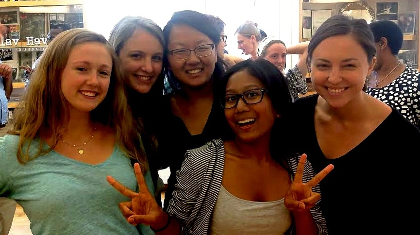 Summer Interns students (from left to right): Kristina Jacobsson, Remy Servis, Grace Kim, Yasmine Karma, Kaitlyn Schaeffer