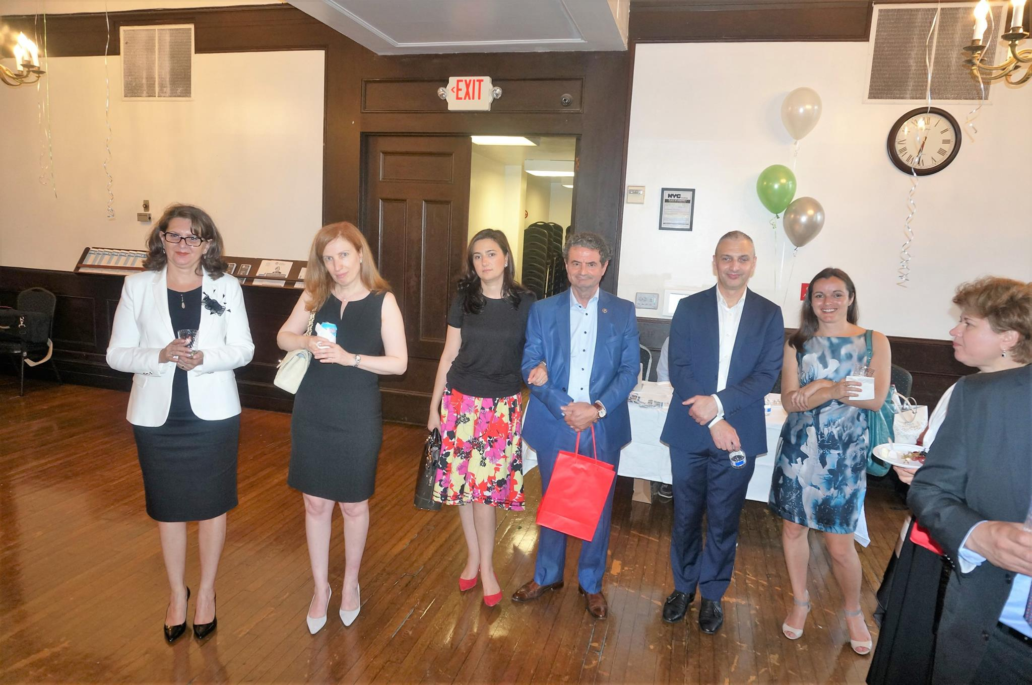 Friends of Ana Lita and board members of Romanian American Business Council