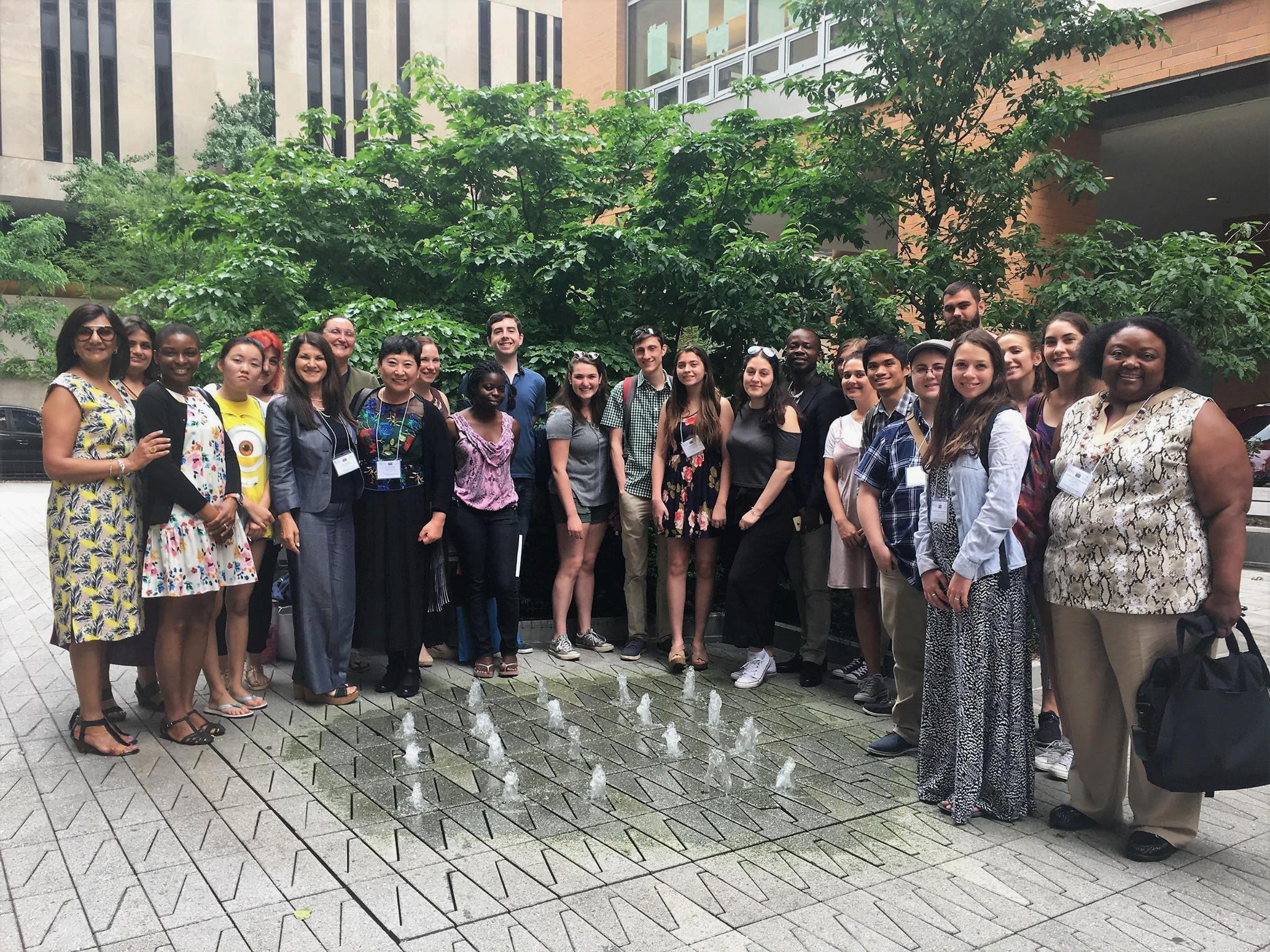 Dr. Karsan and participants