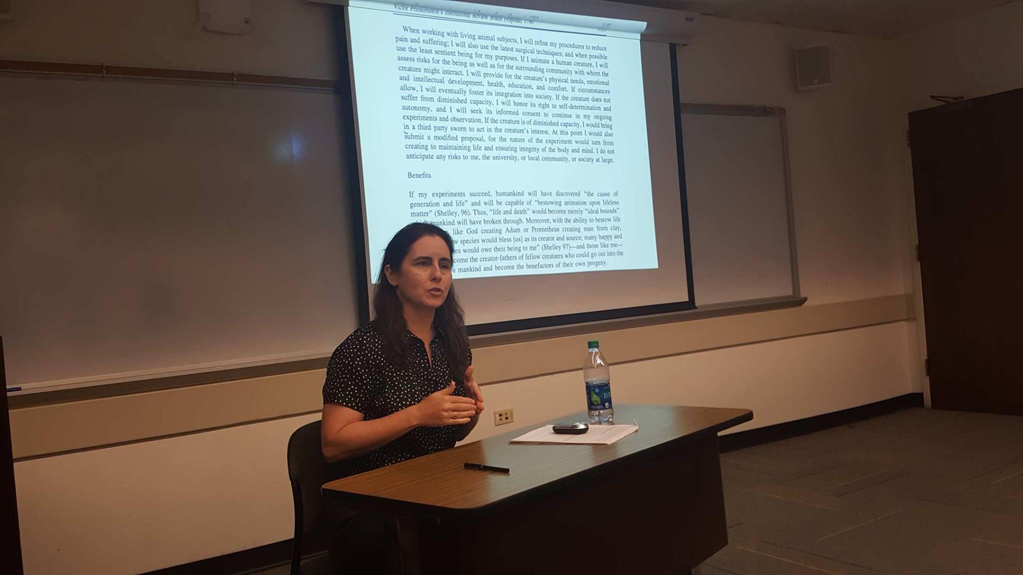 Danielle Spencer, Ph.D. in American Studies, Faculty Member of the Program in Narrative Medicine at Columbia University
