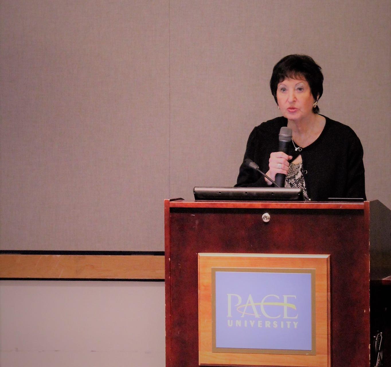 Harriet R. Feldman, PhD, RN, FAAN, Dean of Pace University's College of Health Professions and Lienhard School of Nursing