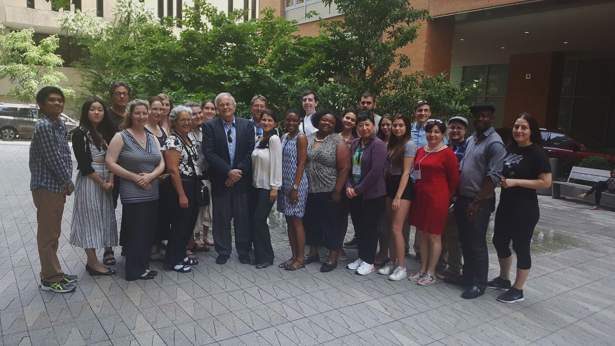 Dr. Petsko and participants